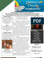 Newsletter 9-23-12