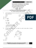 National Standard Examination in Junior Science 2011-2012 Physics