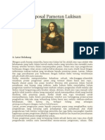 Contoh Proposal Pameran Lukisan