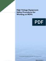 IMCAR005 High Voltage Equipment ROV