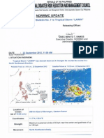 NDRRMC Update Re Severe Weather Bulletin No.7