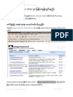 How to Install Myanmar Font