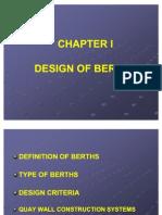 Design of Berths