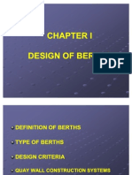 Design of Berths