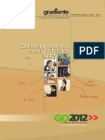 Gradiente Annual Report 2011-12