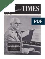 The Hammond Times Vol20 No1-1958