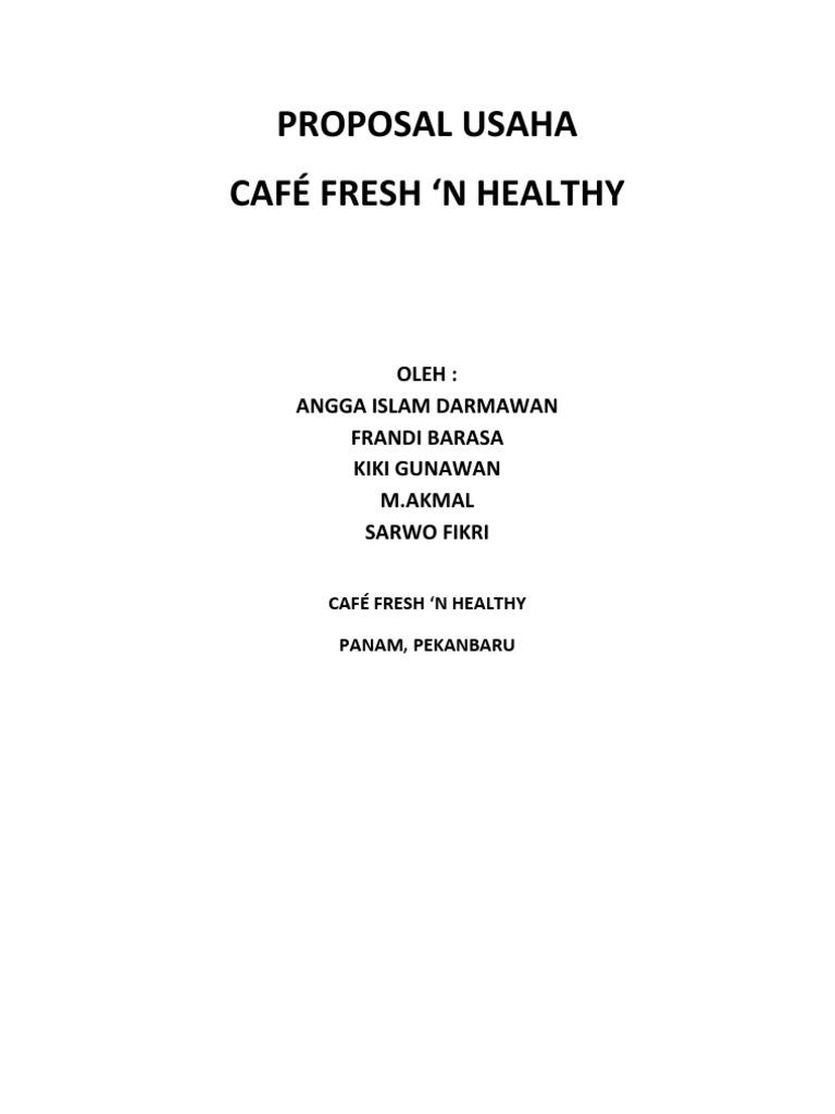 Proposal Cafe