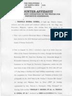 Counter Affidavit (Guera)
