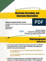 Destroyed the Original Notes_Electronic Recordingand Electronic Notarization