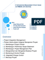 Presentasi Kelompok - Project Integration Management