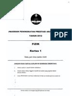 2012 PSPM Kedah Fizik 1 w Ans