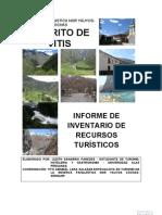Inventario de recursos turisticos de Vitis RPNYC