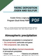 Atmospheric N and S