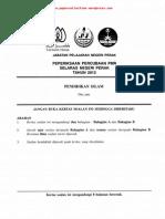 Pmr Trial 2012 Pi (Perak) Q&A