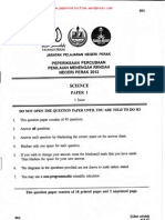 PMR Trial 2012 Sce (Perak) Q&A
