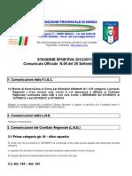 Comunicato 6 Monza