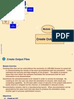 Delmia DPM M6 - Create Output Files
