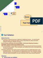 Delmia DPM M7 - Tool Validation