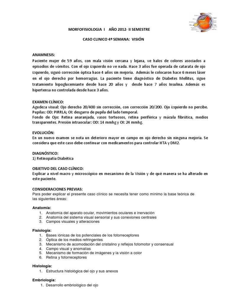 Caso Clinico Vision 2012