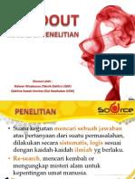 Handout Penelitian Siswa SD, SMP-MTS, SMA-MA, by Sagasitas