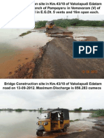PD, NCRMP Phase II Bridge Sites Inspection on 13-09-2012