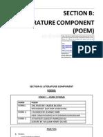 Nota Padat Poems 2012
