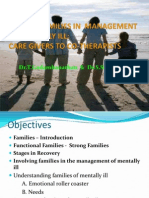 Families in Care of Mentally Ill