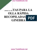 Ginebra - Recetas Para Olla Rapida- V1.0
