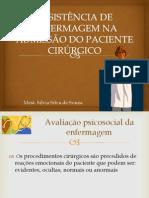 AULA  Cuidados na admissão do paciente cirurgico