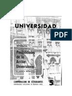 Sacheri 33 - Posibilidades de La Accion Universitaria