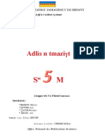 Tamazight - manuel scolaire Algérie - 5 Année Primaire