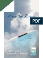 after the storm runoff sheet