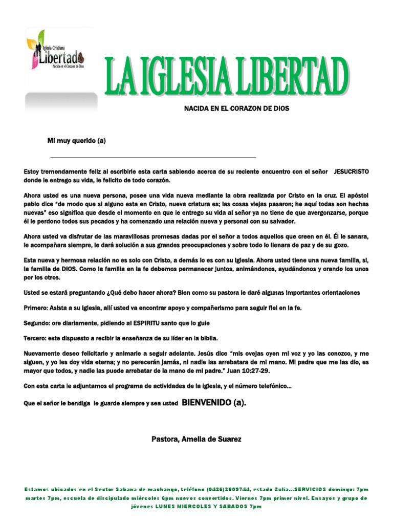 Carta De Bienvenida Para La Plantilla De Los Visitantes De La