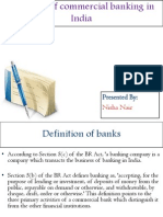 Evolution of Commercial Banking in India