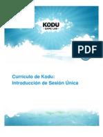 Currículo Kodu - Sesión Única