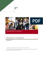 TPA Literacy Elementary Handbook