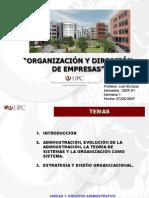 Capitulo 1 El Proceso Administrativo L. Alcazar