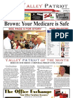 The Valley Patriot, September, 2012