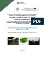 Diagnostico Biofisico Parque Nacional Cusuco Junio 2012