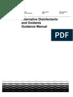 Alternative Disinfectants Guidance