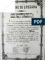 Luzzara, 1879