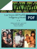 Las Voces del Pueblo Negro, y Mestizo Indígena No. 8
