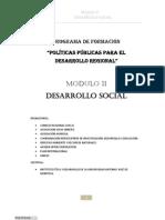 Modulo Desarrollo Social Cusco