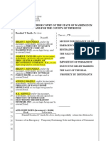 Foreclosure Temp Restraining Order