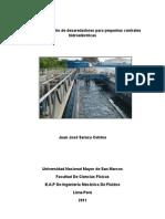 Guía para el diseño de desaredadores para pequeñas centrales hidroeléctricas