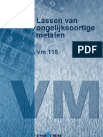 VM115 Lassen Van Ongelijksoortige Metalen