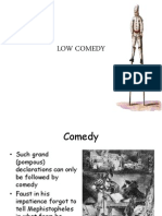 LOW COMEDY IN FAUSTUS