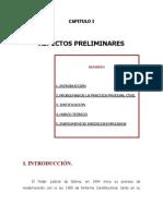 Oralidad en el proceso civil Bolivia