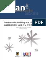 6-Plan de Desarrollo Distrital 2012-2016 Bogota Humana