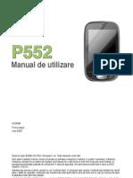 Manual Asus p552